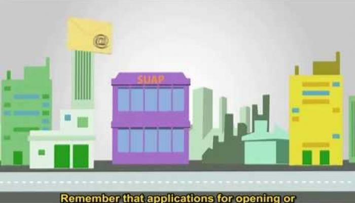 Embedded thumbnail for How to submit and consult a dossier online with SUAP. SUB ENG
